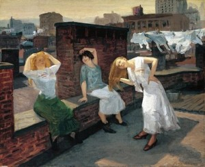 John Sloan, Sunday Women Drying Hair